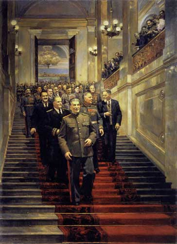 Налбалдян Д. В Кремле. 24 мая 1945 года.