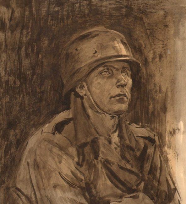 Самсонов Марат. Немецкий солдат.