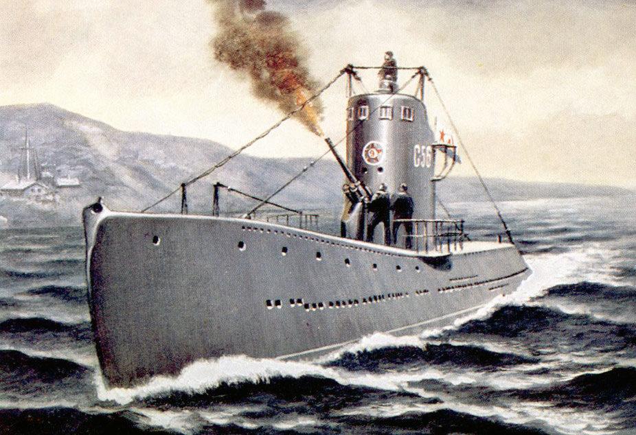 Иванов В. Подводная лодка С-56.