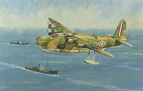 Hopkins John Wynne. Летающая лодка.