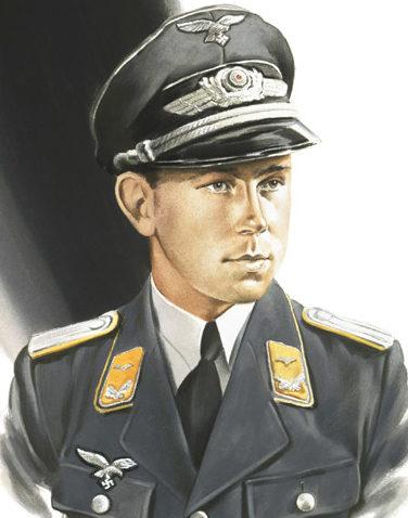 Nutkins Geoff. Оберлейтенант Ulrich Steinhilper.