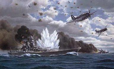 White John. Линкор «Yamato».