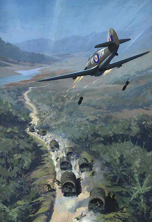 Nockolds Roy. Атака на японский конвой.
