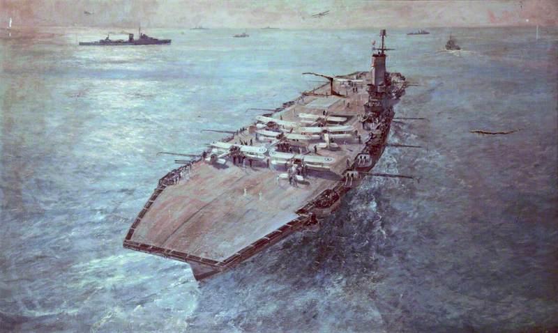Burgess Arthur. Авианосец «Ark Royal».