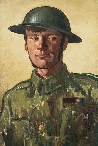 Gill Colin Unwin. Артиллерист.