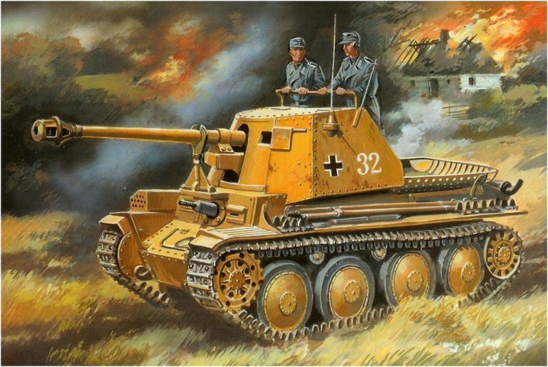 Руденко Валерий. САУ SdKfz 139 Marder III.