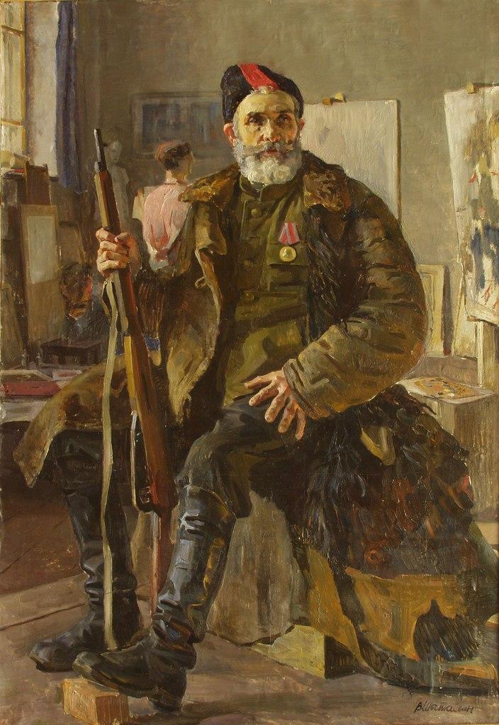Шаталин Виктор. Партизан.