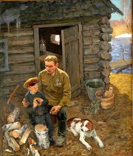 Шумилов Вячеслав. Весна 1945 года.