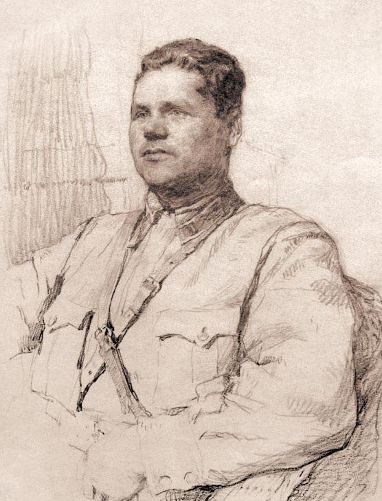Яр-Кравченко Анатолий. Командир эскадрильи Н. Богатырев.