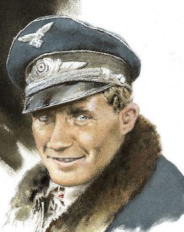 Nutkins Geoff. Оберлейтенант Franz von Werra.