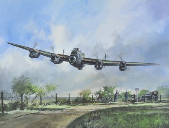 Rayson John. Бомбардировщик Avro Lancaster.
