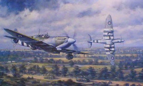 Wong Ronald. Истребители Spitfire Mk IX.
