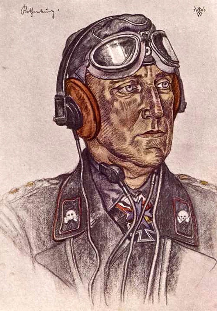 Willrich Wolfgang. Полковник Rothenburg.