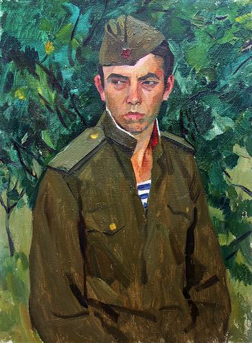 Шаталин Виктор. Военный.
