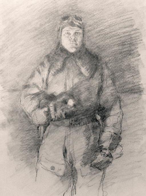 Яр-Кравченко Анатолий. Летчик-истребитель Г. Воевода.