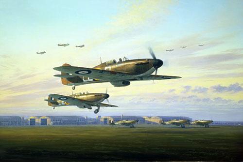 Postlethwaite Mark. Истребители Hawker Hurricanes.