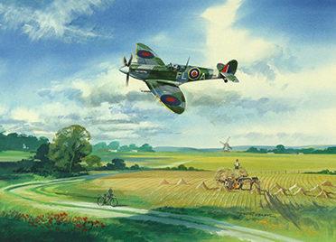 O'Brien Timothy. Истребитель Spitfire.