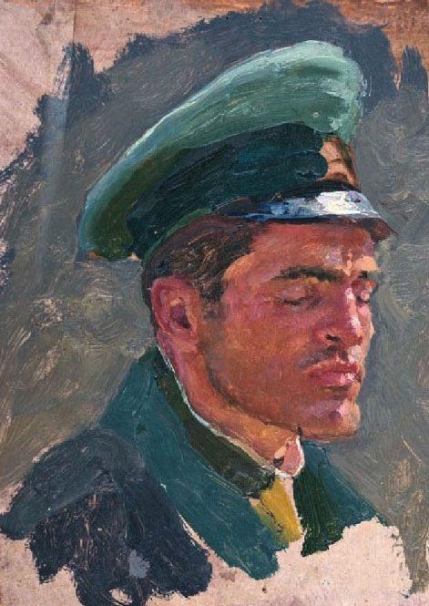 Волков Юрий. Немецкий офицер.