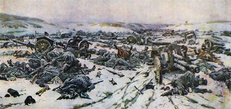 Кривоногов Петр. Корсунь-шевченковское побоище.