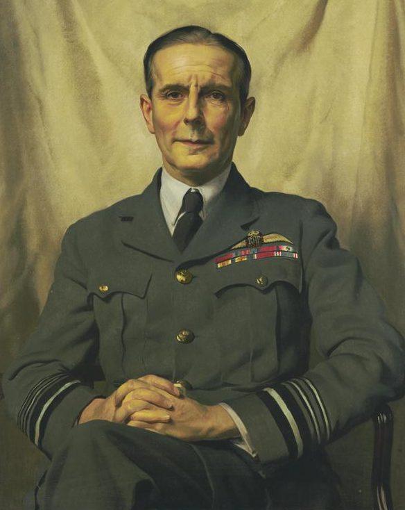 Gunn Herbert James. Маршал авиации Philip Joubert.