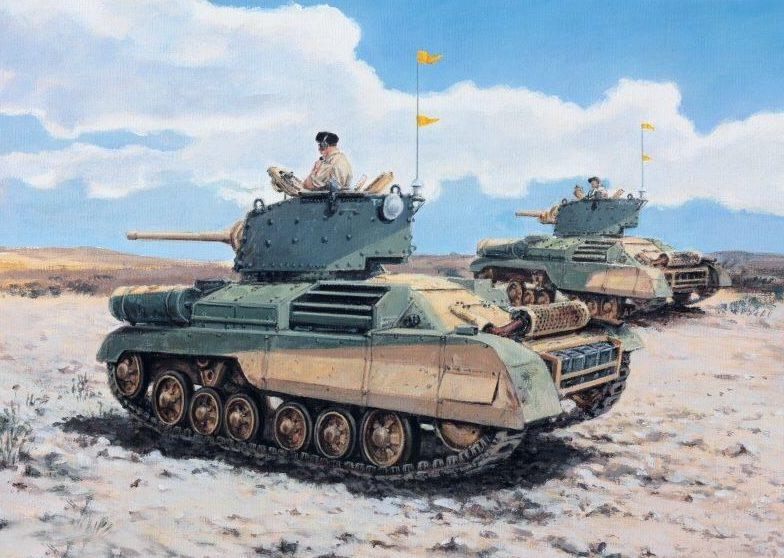 Pentland David. Танк А-10 Mark II.