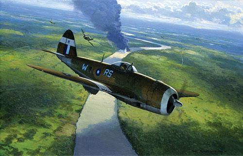 Postlethwaite Mark. Истребитель Р-47.