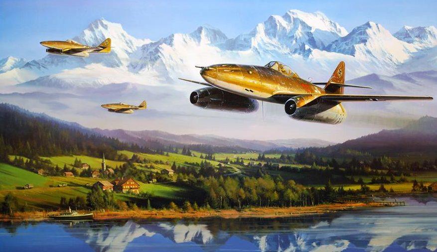 Trudgian Nicolas. Истребители Ме-262.
