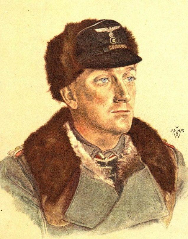 Willrich Wolfgang. Майор Hans Detloff von Cossel.