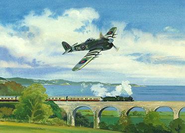 O'Brien Timothy. Истребитель «Hawker Typhoon».