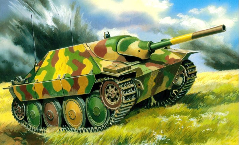 Руденко Валерий. САУ Jagdpanzer 38.