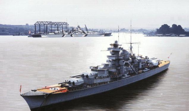 Berryman Ivan. Тяжелый крейсер «Prinz Eugen».