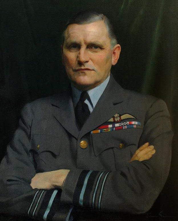 Gunn Herbert James. Маршал авиации Sholto Douglas.
