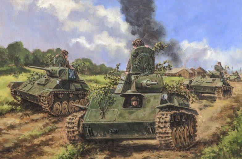Pentland David. Танк Т-70.