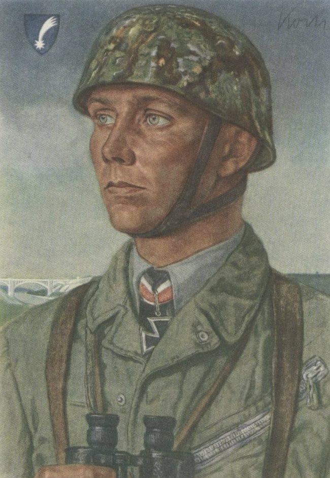 Willrich Wolfgang. Майор Walter Koch.