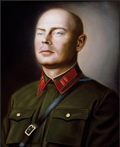 Дроздов Андрей. Портрет майора П. Азаркина.