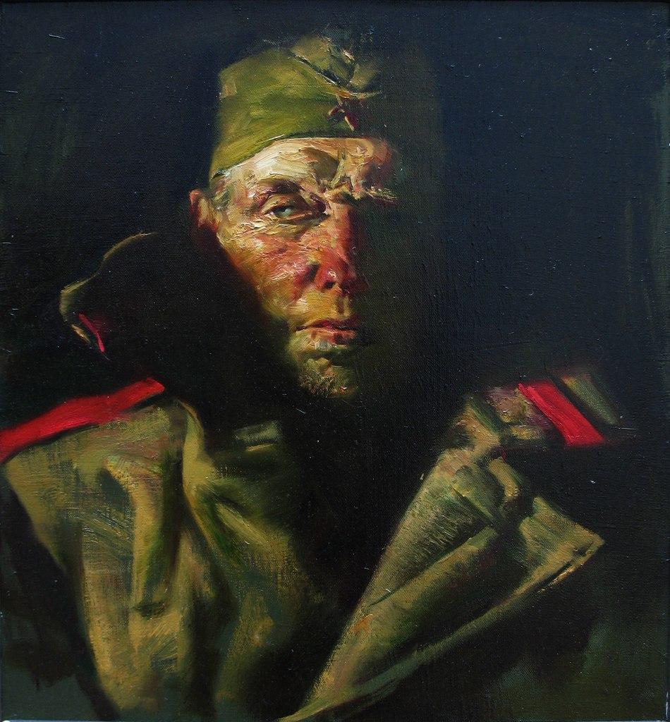 Новоселов Алексей. Портрет отца.