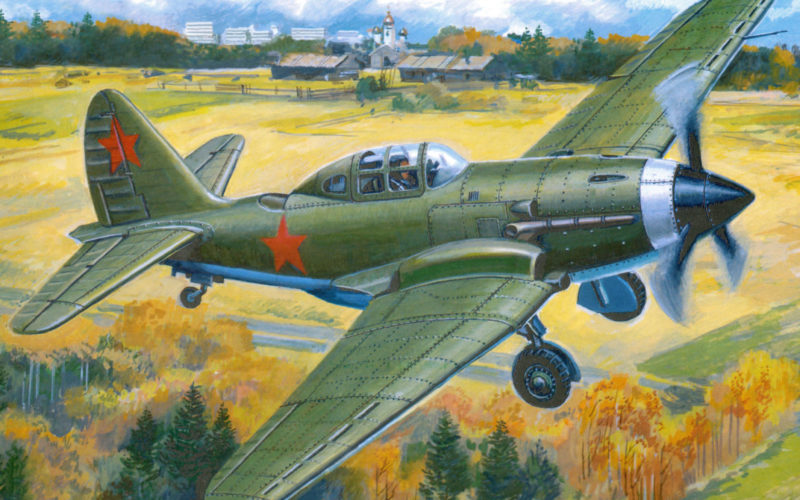 Руденко Валерий. Истребитель СУ-3.