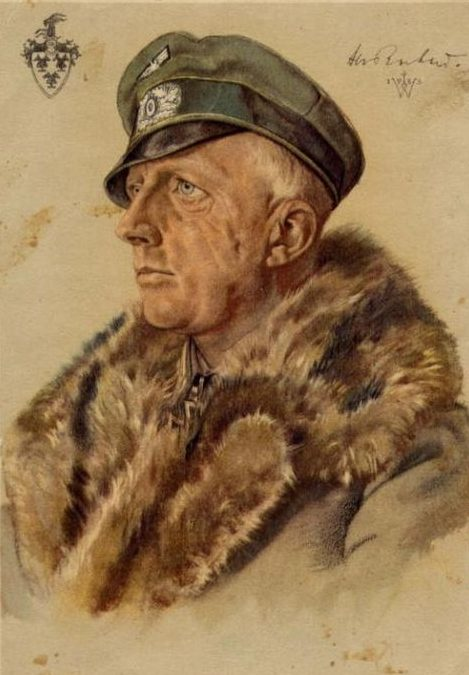 Willrich Wolfgang. Майор Hans von Rochow.