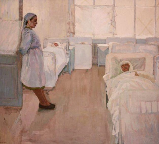 Кокачев Виталий. В госпитале.