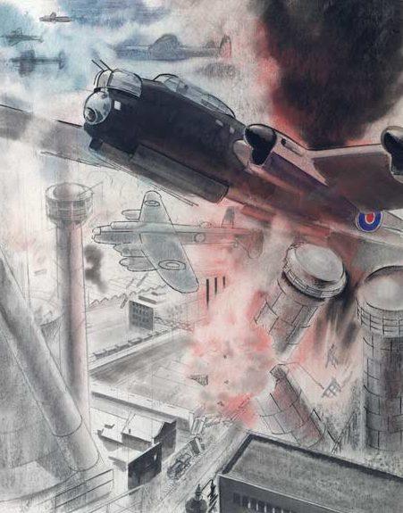 O'Connell. Дневной налет бомбардировщиков «Lancaster».