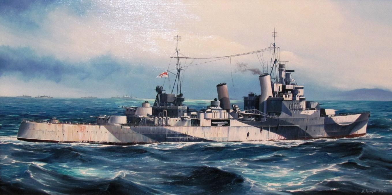 Гончаров М.Легкий крейсер «Sheffield».
