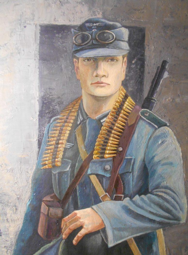 Пахомов Никита. Немецкий солдат.