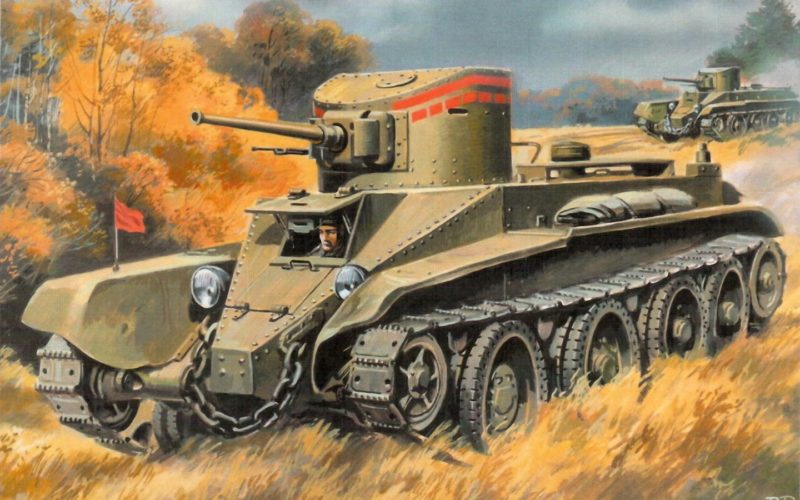 Руденко Валерий. Танк БТ-2.