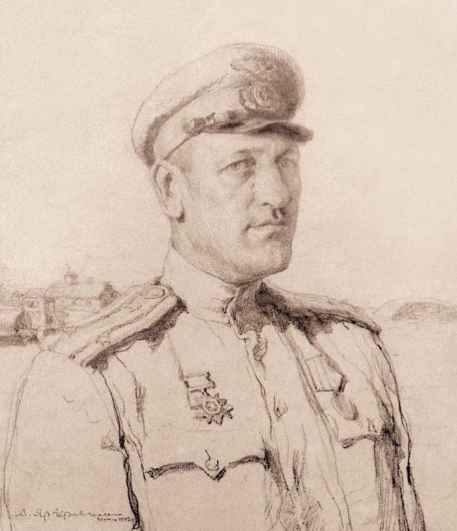 Яр-Кравченко Анатолий. Комбат Г. Назаров.