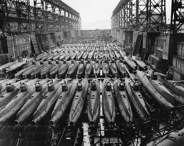 Подводные лодки типа «Корю».