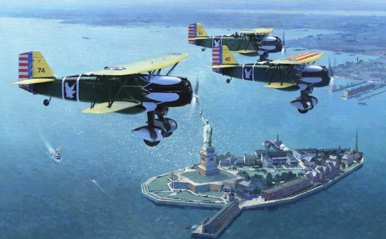 Middlebrook Roger. Истребители Curtiss P-6E.