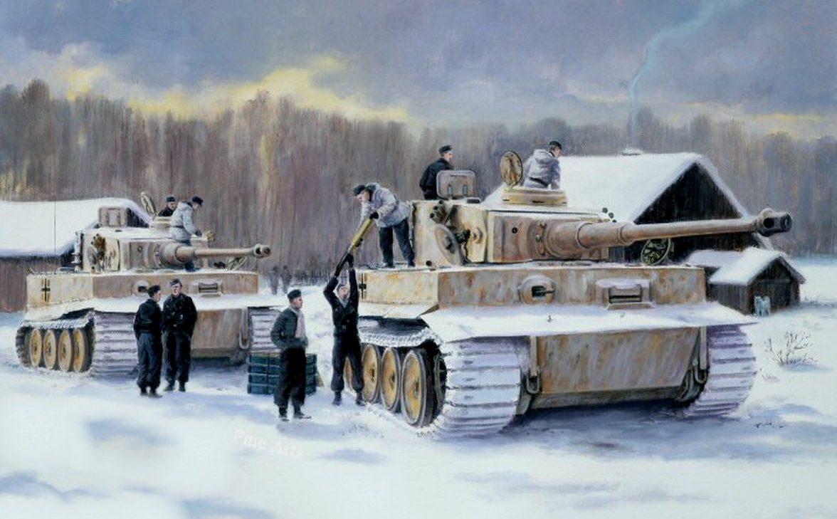 Pentland David. Танки Tiger I.