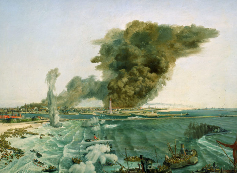 Wilkinson Norman. Эвакуация с Dunkirk.