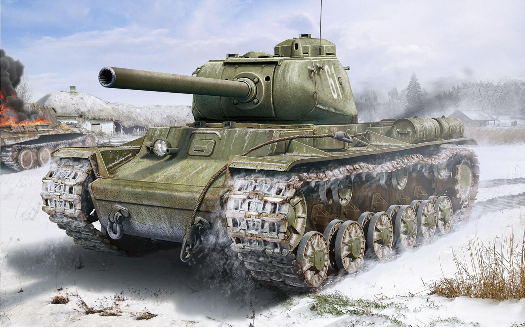 Петелин Валерий. Танк КВ-85.