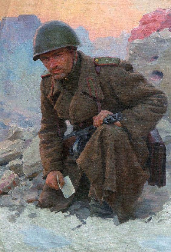 Волков Юрий. Солдат.